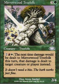 Mirrorwood Treefolk - Planeshift