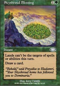 Skyshroud Blessing - Planeshift