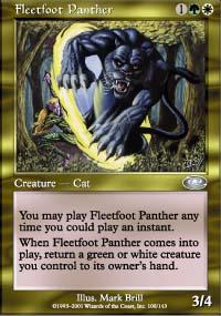 Fleetfoot Panther - Planeshift