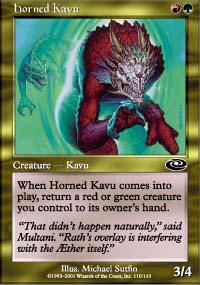 Horned Kavu - Planeshift