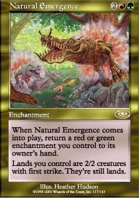 Natural Emergence - Planeshift