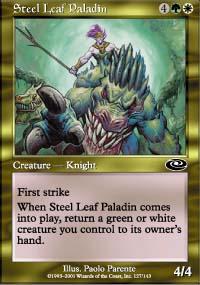 Steel Leaf Paladin - Planeshift