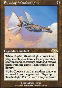 Skyship Weatherlight 1 - Planeshift
