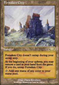 Forsaken City - Planeshift