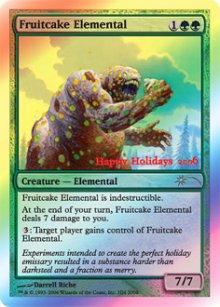 Fruitcake Elemental - Miscellaneous Promos