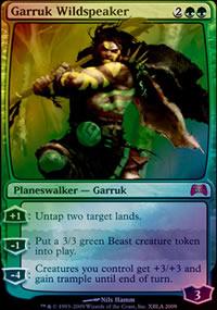Garruk Wildspeaker - Miscellaneous Promos