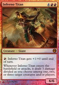 Inferno Titan - Miscellaneous Promos