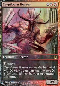 Cryptborn Horror - Miscellaneous Promos
