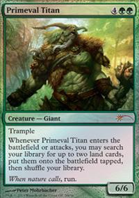 Primeval Titan - Miscellaneous Promos