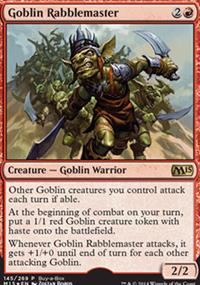Goblin Rabblemaster - Miscellaneous Promos