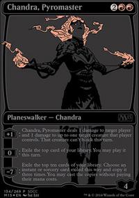 Chandra, Pyromaster - Miscellaneous Promos