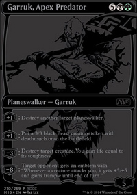 Garruk, Apex Predator - Miscellaneous Promos