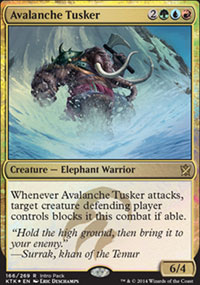 Avalanche Tusker - Miscellaneous Promos