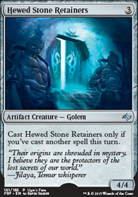 Hewed Stone Retainers - Miscellaneous Promos