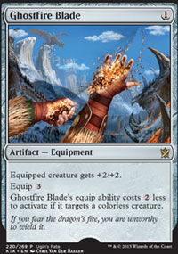 Ghostfire Blade - Miscellaneous Promos