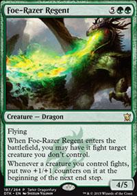 Foe-Razer Regent - Miscellaneous Promos