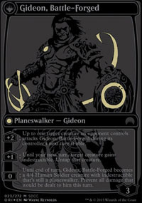 Gideon, Battle-Forged - Miscellaneous Promos