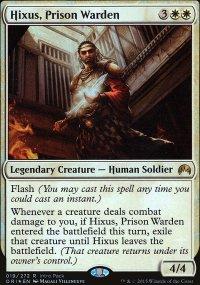Hixus, Prison Warden - Miscellaneous Promos