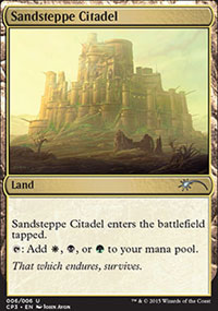 Sandsteppe Citadel - Miscellaneous Promos