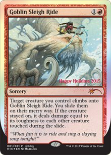 Goblin Sleigh Ride - Miscellaneous Promos