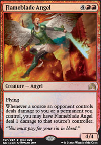 Flameblade Angel - Miscellaneous Promos