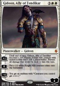 Gideon, Ally of Zendikar - Miscellaneous Promos