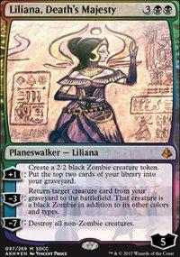 Liliana, Death's Majesty - Miscellaneous Promos