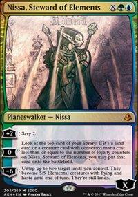 Nissa, Steward of Elements - Miscellaneous Promos
