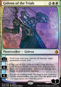Gideon of the Trials - Miscellaneous Promos
