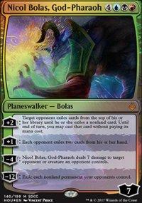 Nicol Bolas, God-Pharaoh - Miscellaneous Promos