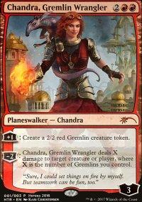 Chandra, Gremlin Wrangler - Miscellaneous Promos