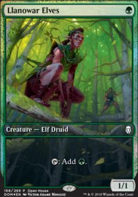 Llanowar Elves - Miscellaneous Promos