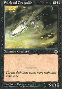 Skeletal Crocodile - Portal