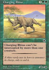 Charging Rhino - Portal
