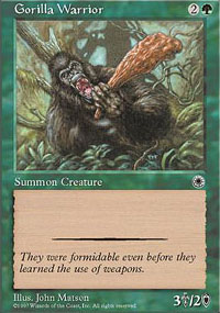 Gorilla Warrior - Portal
