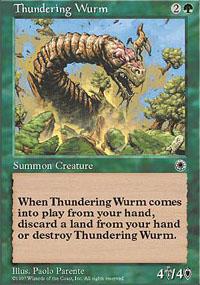 Thundering Wurm - Portal