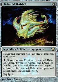 Helm of Kaldra - Prerelease