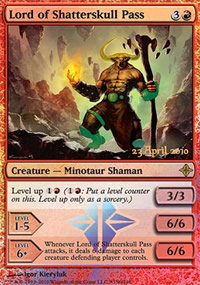 Lord of Shatterskull Pass - Prerelease
