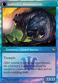 Ludevic's Abomination - Prerelease