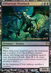 Abhorrent Overlord - Prerelease