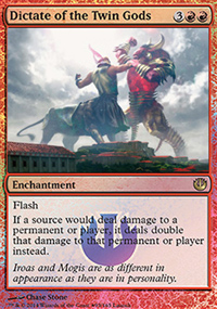 Dictate of the Twin Gods - Prerelease