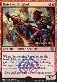 Quicksmith Rebel - Prerelease