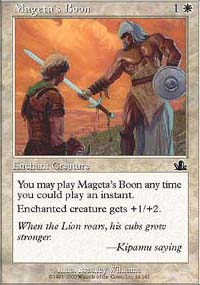 Mageta's Boon - Prophecy