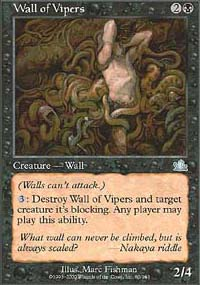Wall of Vipers - Prophecy