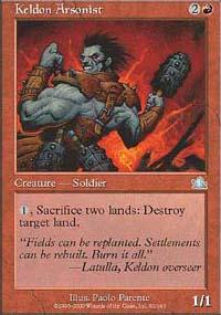 Keldon Arsonist - Prophecy