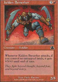 Keldon Berserker - Prophecy