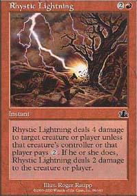 Rhystic Lightning - Prophecy