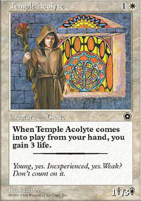 Temple Acolyte - Portal Second Age