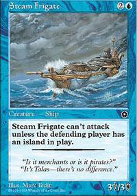 Steam Frigate - Portal Second Age