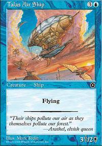 Talas Air Ship - Portal Second Age